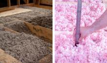 Greiner Heating and Air Conditioning, cellulose vs fiberglass insulation, CA