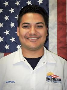 Greiner Heating and Air Conditioning Employee, Anthony R.