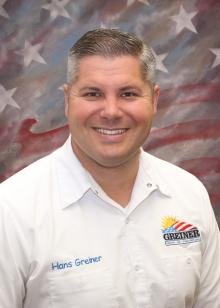 hans greiner from greiner heating and air conditioning in yolo country california