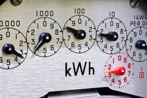 Greiner Heating and Air, Electric meter, CA