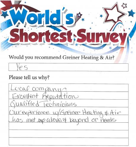 greiner customer testimonial