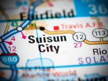Suisun City, CA map