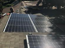 davis solar panels