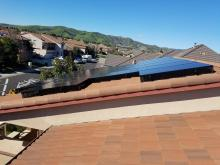 solar panels on roof in vacaville