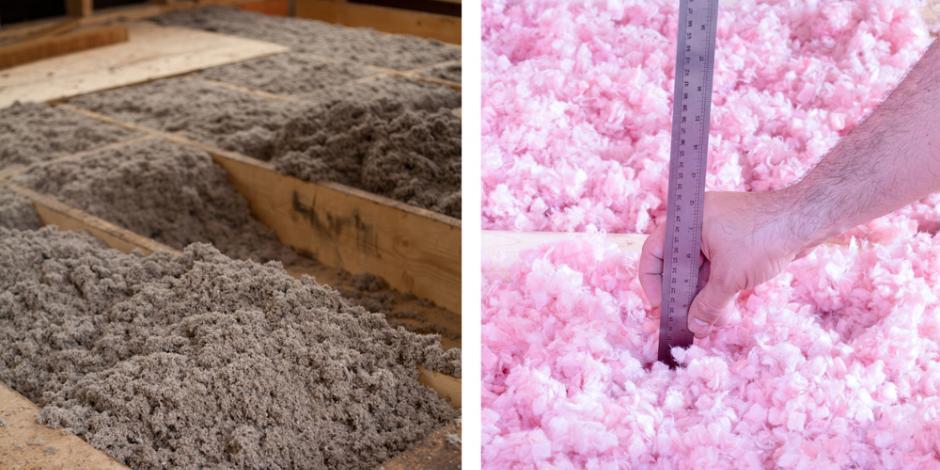 Comparing insulation cellulose vs fiberglass greiner for Insulation board vs fiberglass
