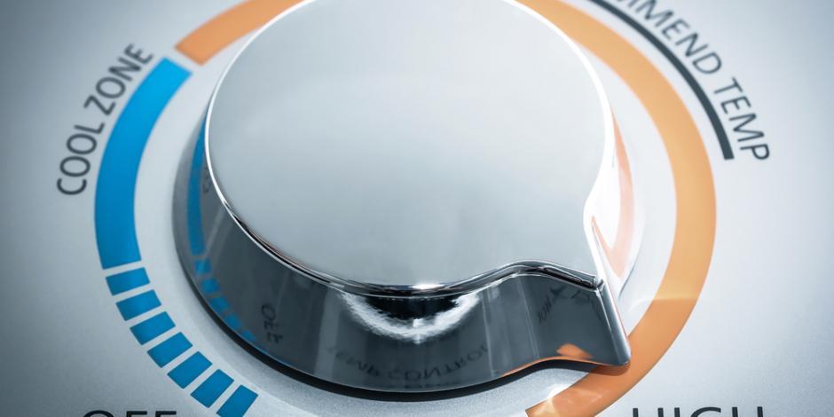 water heater adjustment knob