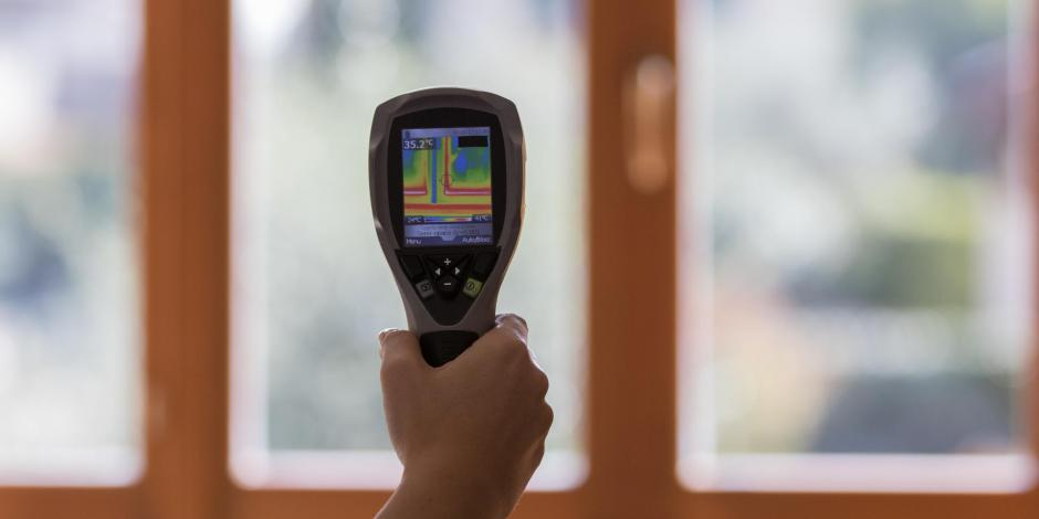 thermal imaging camera inside house