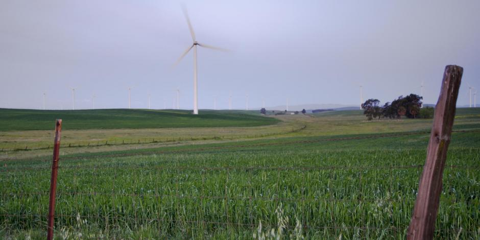 Windmills in Vacaville California. Service area for Greiner heating and air conditioning