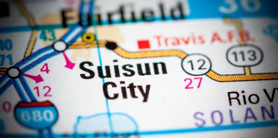 Suisun City, CA map